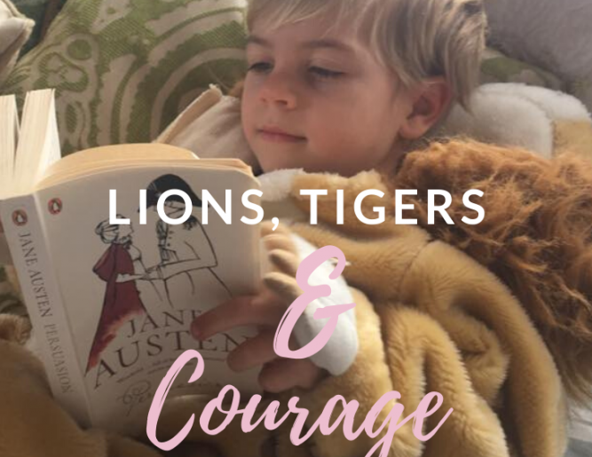Lions, Tigers, & Courage